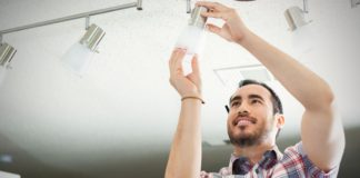 install energy efficient lighting at home and help reduce your home's electricity costs