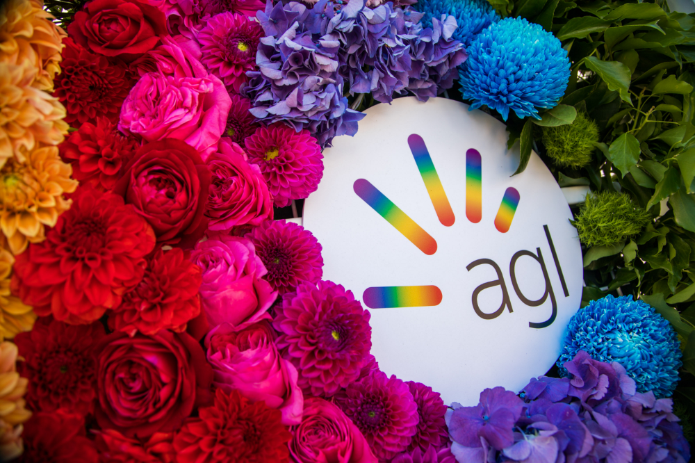 AGL behind the pride